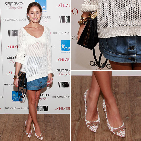 Olivia Palermo Jean Skirt May 2012