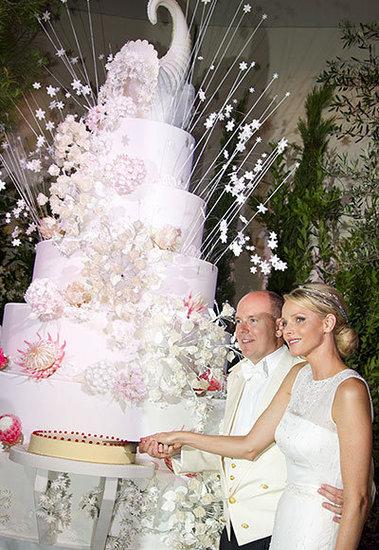 Prince Albert II and Charlene Wittstock's Cake Spectacular
