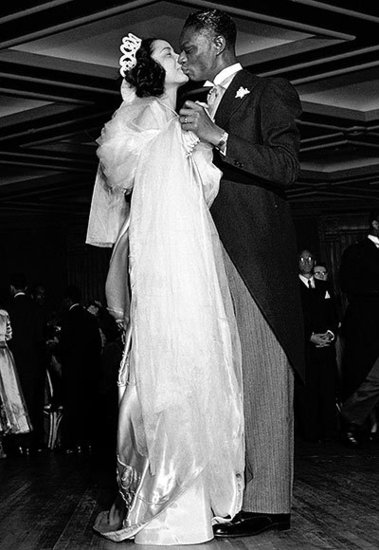 Nat King Cole and Maria Hawkins Ellington's Romantic Dance