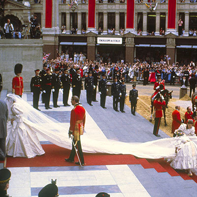 Princess Diana Leaves a Trail
