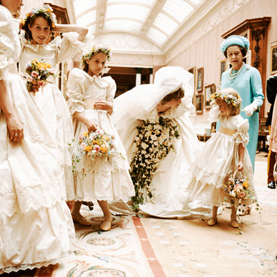 Princess Diana's Bridesmaid Pep Talk