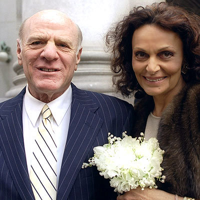 Barry Diller and Diane von Furstenberg's Civil Ceremony