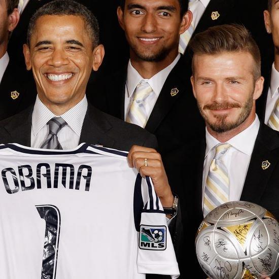 President Obama Making Fun of David Beckham Video