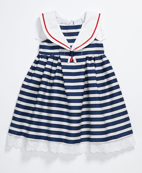 Pippa & Julie Stripe Sailor Dress ($34)