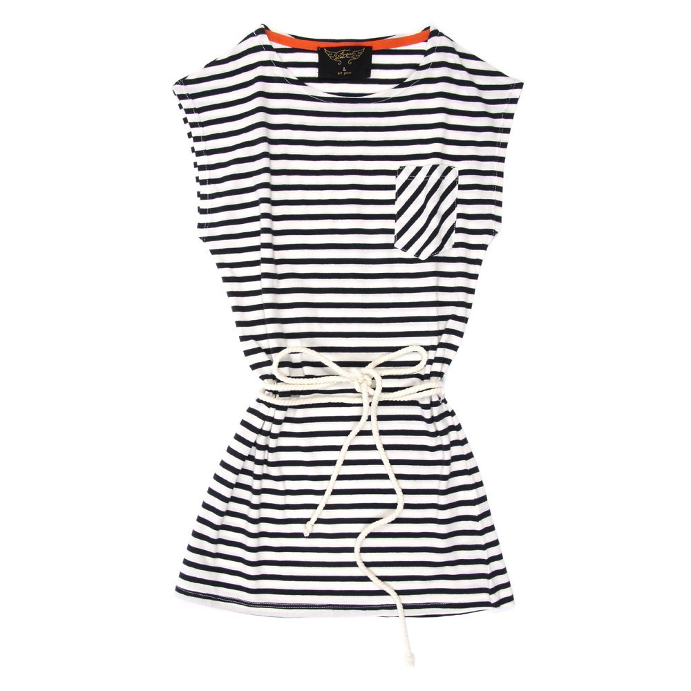 Finger in the Nose Striped Dress ($81)