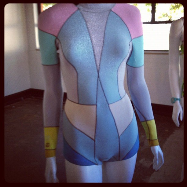 Doesn't this Cynthia Rowley for Roxy wetsuit almost make you want to take up surfing? I said almost...