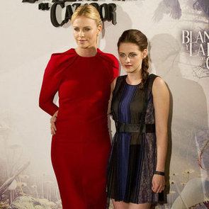 Kristen Stewart and Charlize Theron Pictures in Madrid