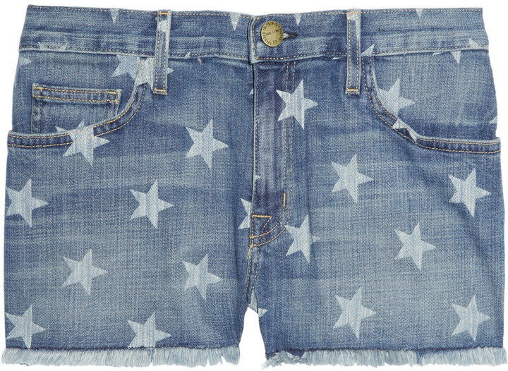 It goes without saying that these denim cutoffs are perfect for a Memorial Day barbecue.  Current/Elliott the Boyfriend Star-Print Denim Shorts ($185)
