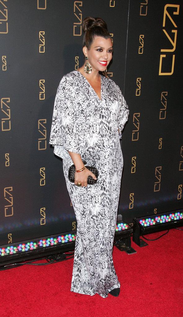 Kourtney Kardashian's Goddess Gown