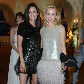 Naomi Watts Sequin and Feather Dress