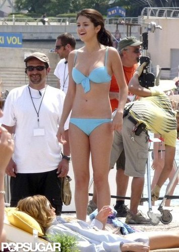 Selena Gomez traveled abroad with her bikini to Monte Carlo in June 2010.