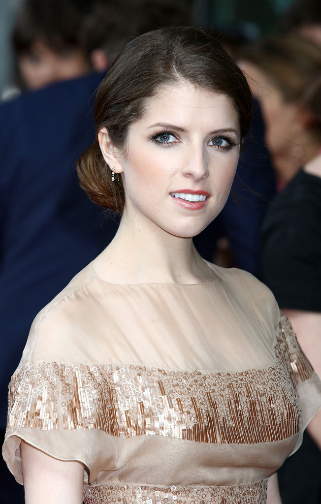 Anna Kendrick looked gorgeous at the What to Expect When You're Expecting UK premiere.