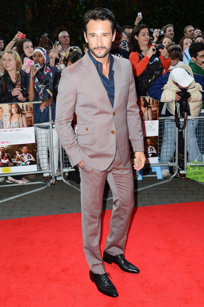 Rodrigo Santoro arrived at the UK premiere of What to Expect When You're Expecting.