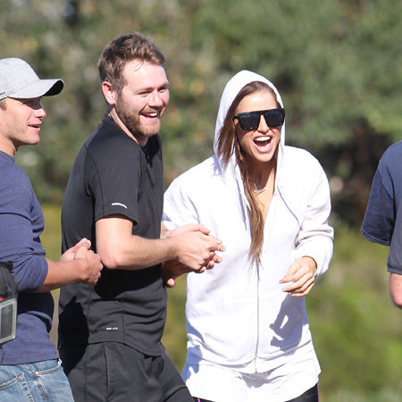 Kyle and Jackie O Amazing Race in Sydney Pictures With Brian McFadden, Vogue Williams, Dan Ewing