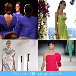 Top Eight Colour Trends from 2012 Mercedes Benz Fashion Week Australia: Pink, Turquoise, White, Pastels, Neon + More!