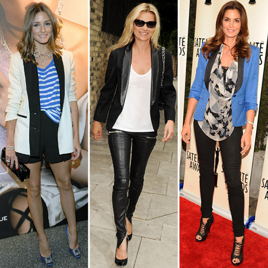 The Tuxedo Blazer — 25 Celebs Show How to Work It For Day and Night