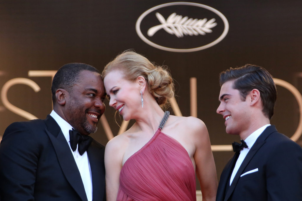 Nicole Kidman and director Lee Daniels had a laugh together at the Cannes Film Festival.