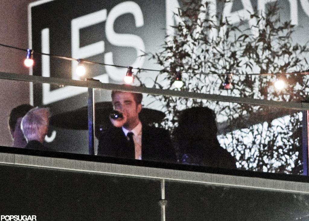 Robert Pattinson and Kristen Stewart partied in Cannes.