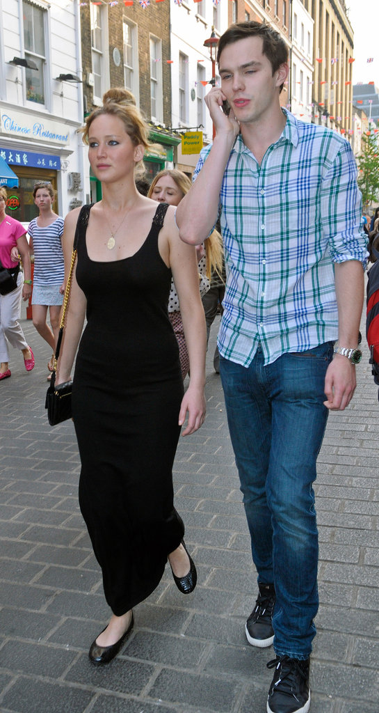 Jennifer Lawrence and Boyfriend in London Pictures ...