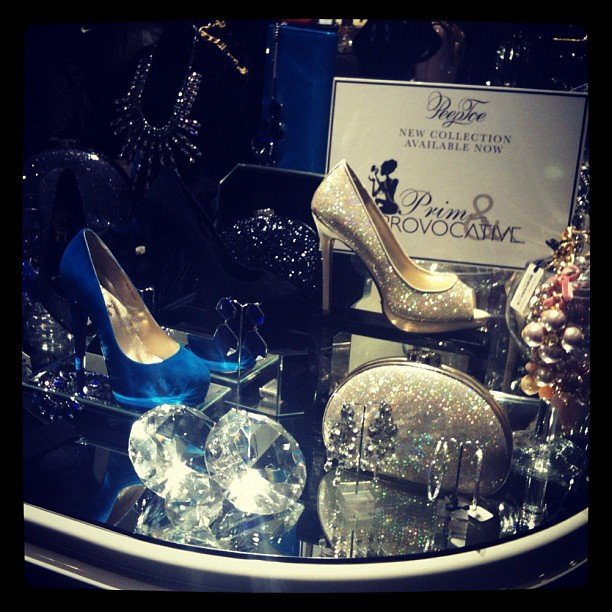 You can always rely on PeepToe Shoes for major sparkle.