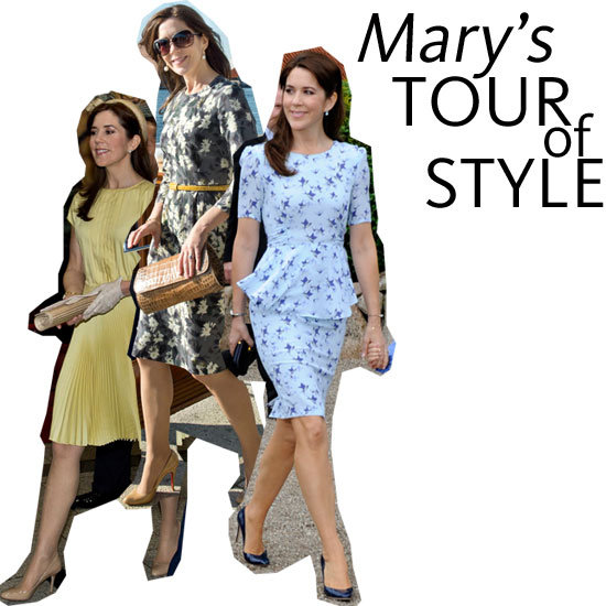 Princess Mary's Madly Stylish May! Snoop Her Month of Killer Looks