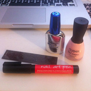 DIY Nail Art: We Try Manicare's GlamNails Nail Art Pen And Stencils