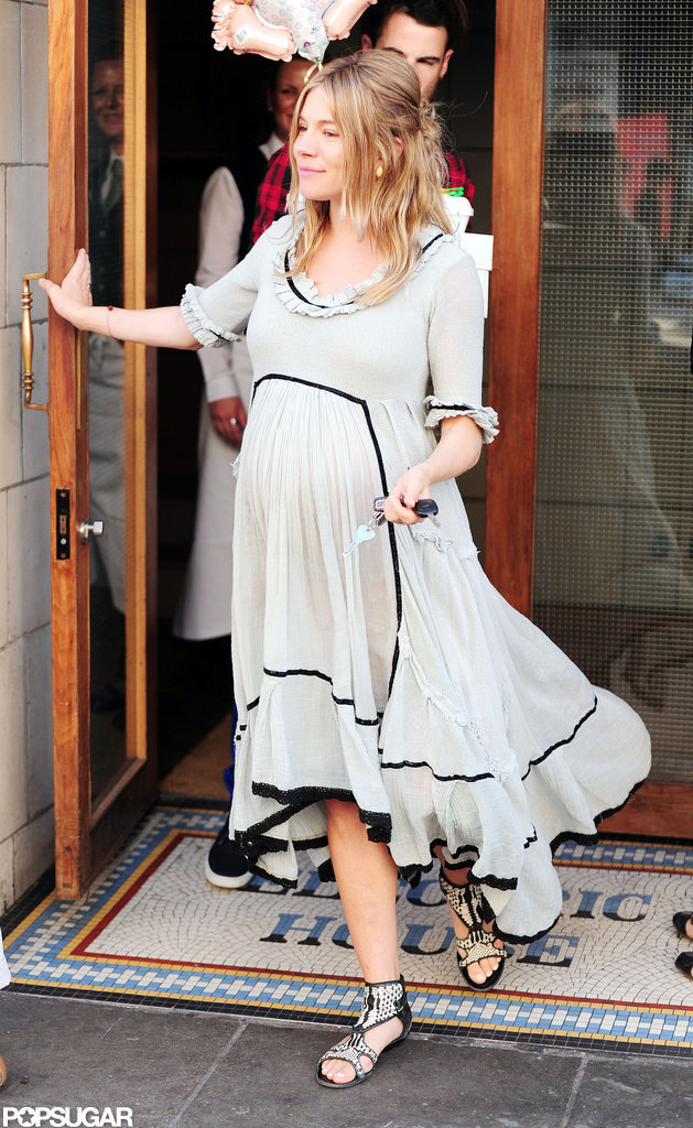 Sienna and Tom Get Ready For Baby With a Shower