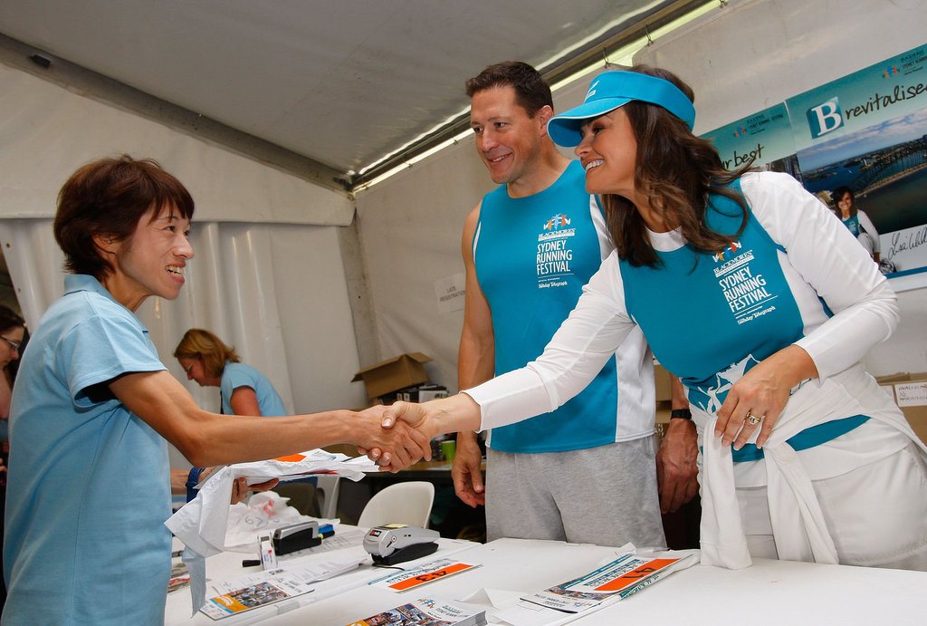Lisa was an ambassador for the Sydney Running Festival in Sep. 2008.