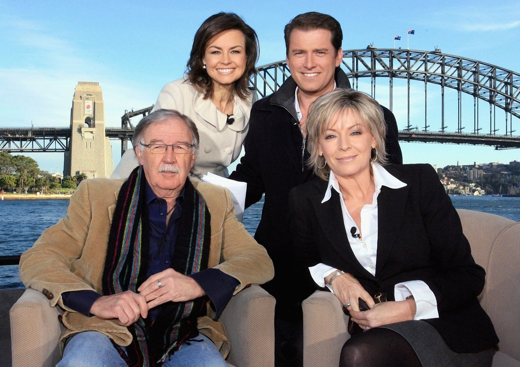Broadcasting with the Today team from the Sydney Opera House in June 2007.