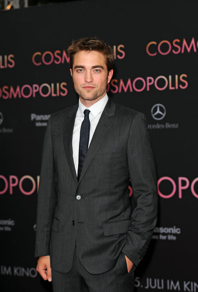Rob Pattinson Takes Cosmopolis to Germany and Talks About His Next Mission