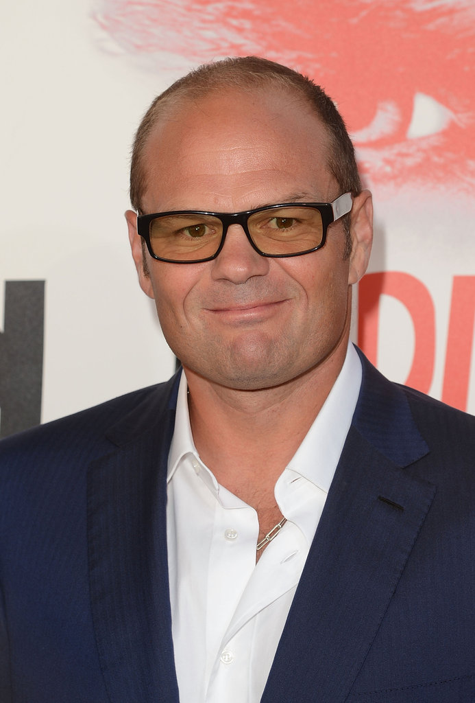 Chris Bauer arrived at the True Blood premiere.