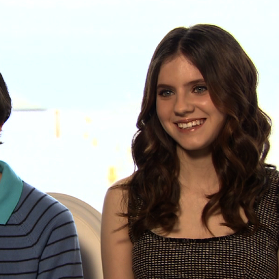Jared Gilman and Kara Hayward Moonrise Kingdom Cannes Interview (Video)