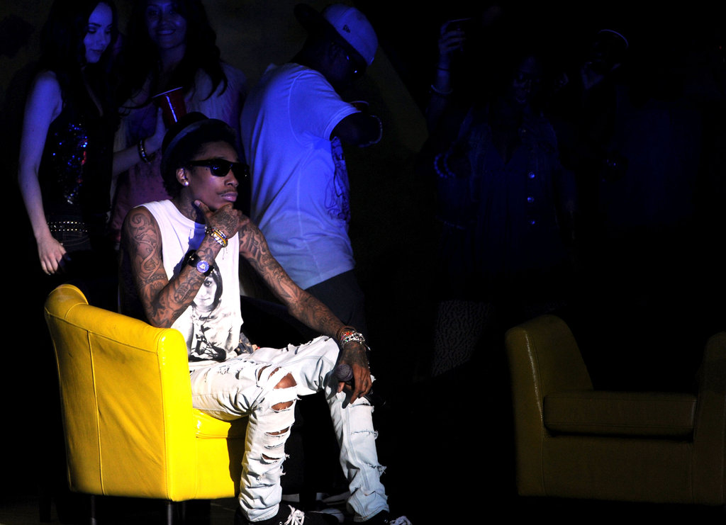Wiz Khalifa was among the musical acts selected to perform at the MTV Movie Awards.