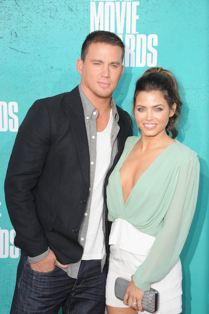 Channing Tatum and Jenna Dewan at the MTV Movie Awards.