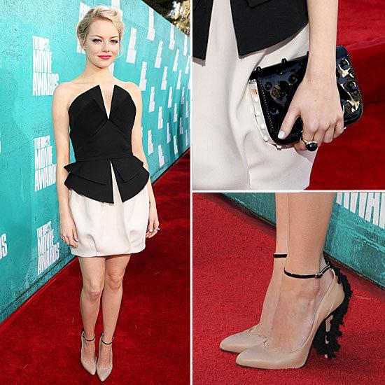 Emma Stone at MTV Movie Awards 2012