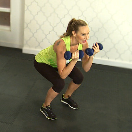 Workout With Heidi Klum's Trainer