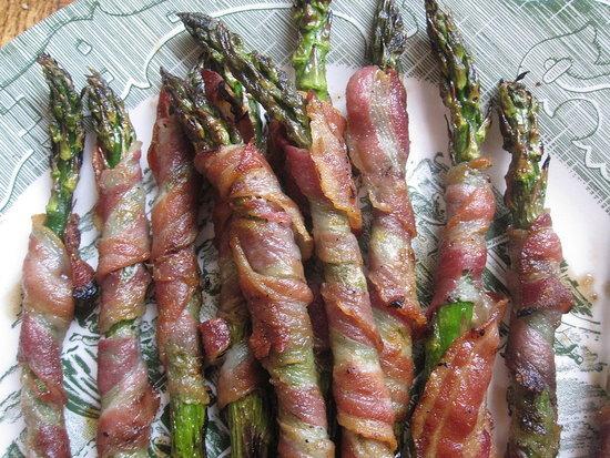 Pancetta-Wrapped Asparagus