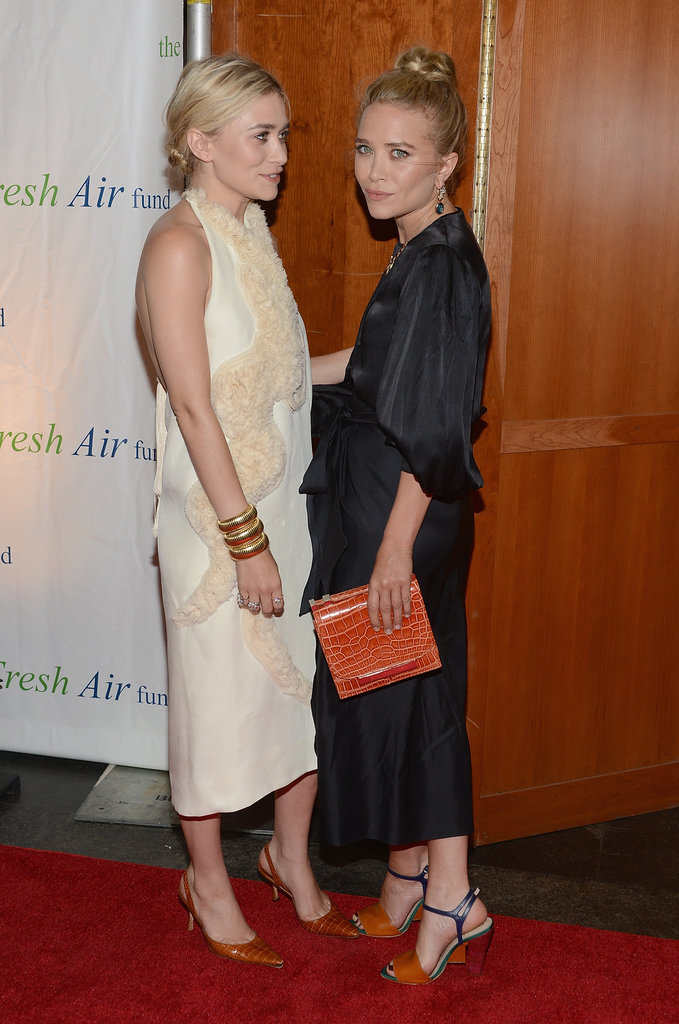 Mary-Kate Olsen and Ashley Olsen were honored at the Fresh Air Fund's Spring Gala in NYC.