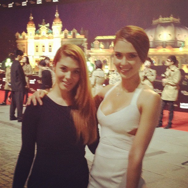 Jessica Alba attended a Montblanc event in Beijing. Source: Instagram user jessicaalba