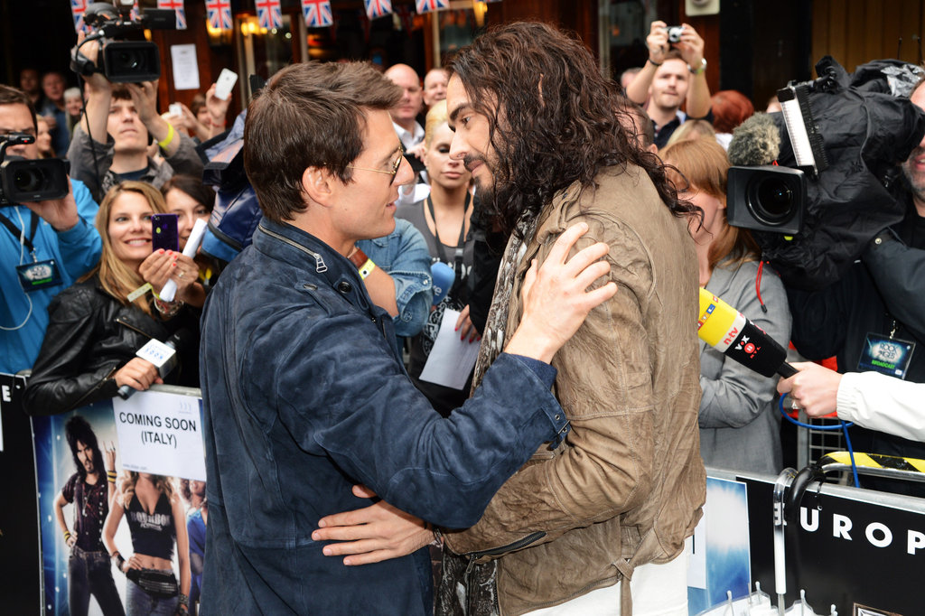 Tom, Julianne, and the Rock of Ages Crew Bring Their Musical to London