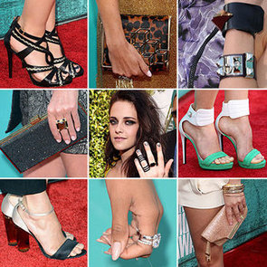 Snoop All of the Celebrity Accessories from the 2012 MTV Movie Awards: Heels, Jewels and Bags Galore!