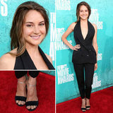 Pictures of Shailene Woodley Stella McCartney Jumpsuit on the red carpet at the 2012 MTV Movie Awards: Rate it or Hate it?