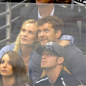 Celebrity Pictures at LA Kings vs New Jersey Devils Game