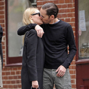 Kate Bosworth and Michael Polish Kissing Pictures