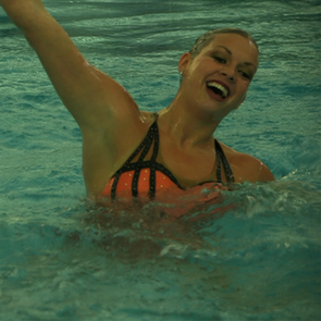 Olympic Synchronized Swimming Team Hair and Makeup Tips