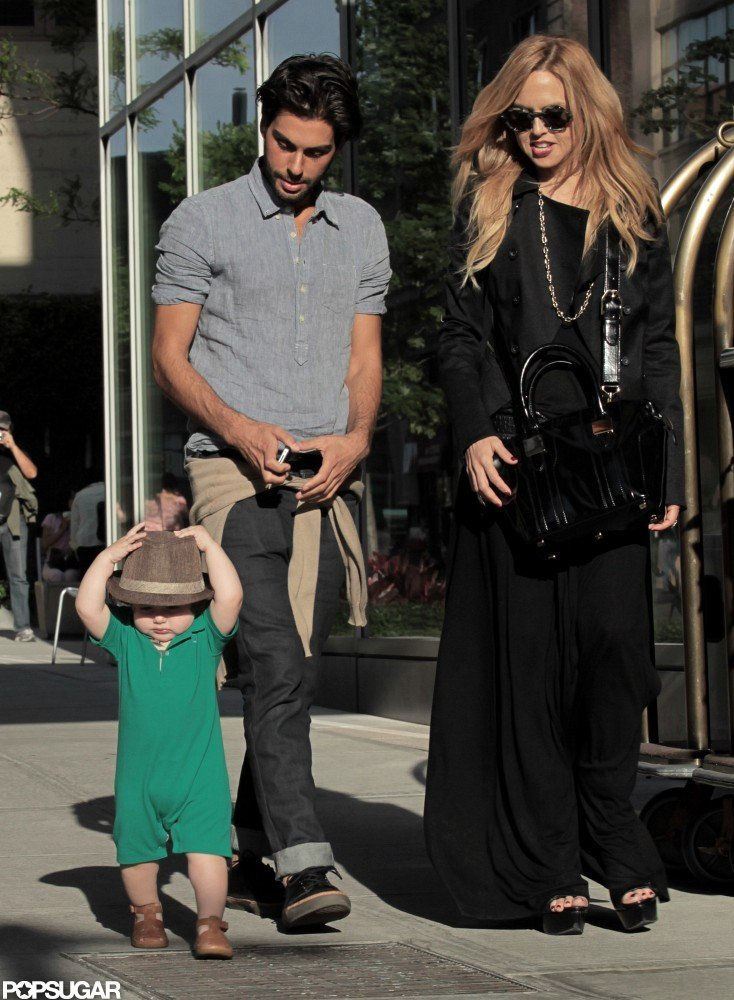 Rachel Zoe and Skyler Berman went for a walk in SoHo with Joey Maalouf.
