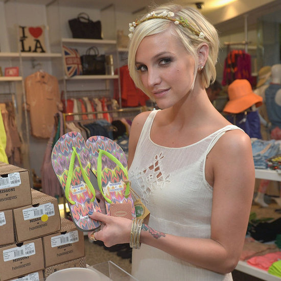 Ashlee Simpson Pictures Talking Niece Maxwell Simpson