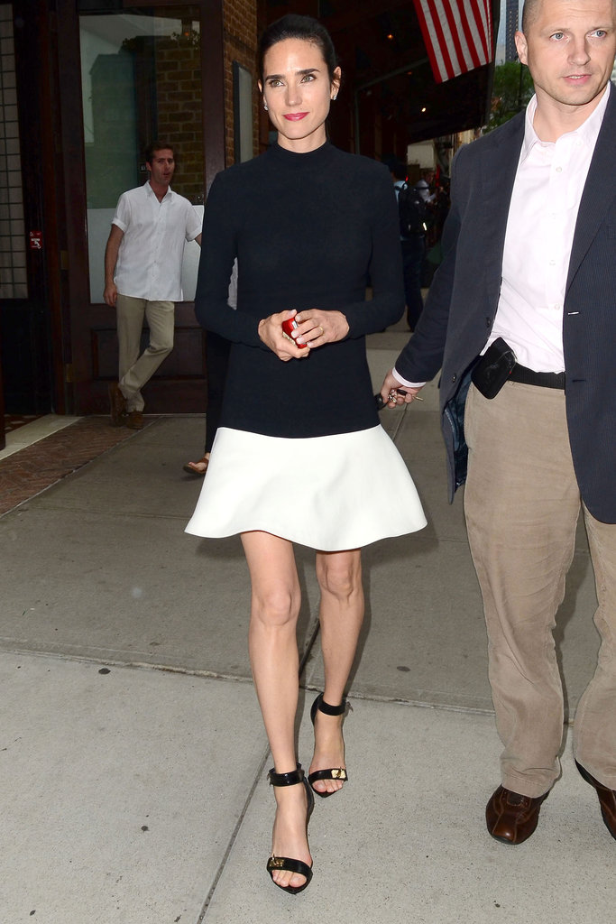 Jennifer Connelly stepped out.