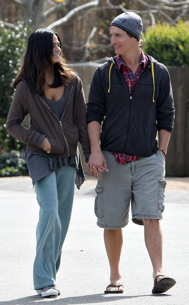 They went for a walk near their Malibu home in February 2009.