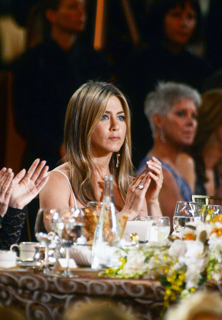 Jennifer Aniston at an AFI gala.